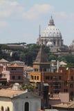 Landskap av Rome Arkivfoton