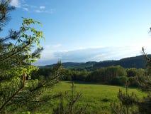 Landskap av södra Bohemia Royaltyfria Bilder