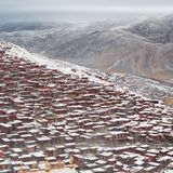 Landskap av Sedah i Ganzi, Sichuan, Kina royaltyfri fotografi
