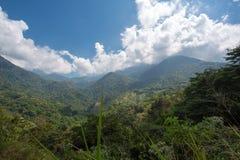 Landskap av Sierra Nevada i Colombia royaltyfria foton