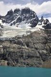 Landskap av slottkullen Cerro Castillo Royaltyfri Fotografi