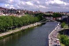 Landskap av Spanien royaltyfri fotografi
