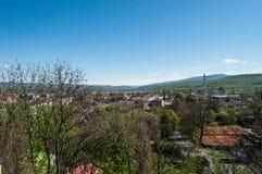 Landskap av stad royaltyfri foto