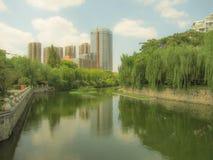 Landskap av staden Royaltyfri Bild