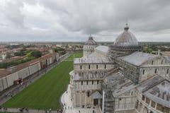 Landskap av staden Pisa Italia Arkivfoton