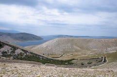 Landskap av stenen Arkivfoton