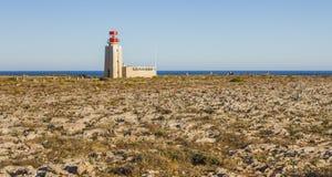 Landskap av sydliga Portugal, algarve region Royaltyfri Fotografi