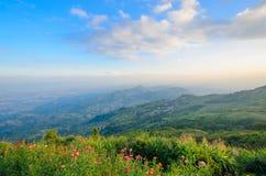Landskap av Thailand Arkivbilder