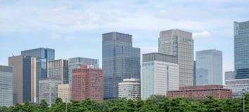 Landskap av Tokyo, Japan Royaltyfri Fotografi