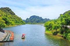 Landskap av Trang Arkivbilder