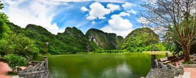 Landskap av Trang Arkivfoton