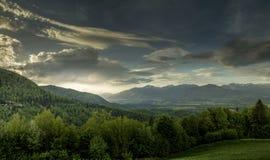Landskap av Triglav royaltyfria bilder