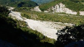 Landskap av Valmarrechia Italien fotografering för bildbyråer