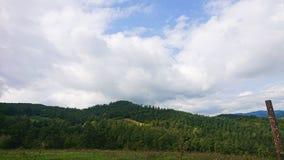 Landskap av Valmarrechia Italien arkivfoto