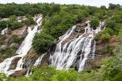 Landskap av vattennedgångar Arkivbild