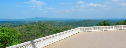 Landskap av watpaphukon Udonthani i Thailand Royaltyfria Bilder