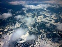 Landskap berg Arkivbild