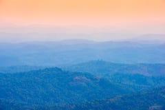 Härliga berg landskap Royaltyfri Fotografi