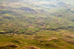 Landskap Berg wally med floden Turkiet royaltyfri foto