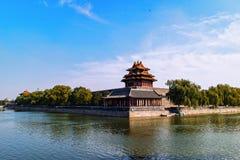 Landskap för Beijin ` s Forbidden City Royaltyfri Fotografi