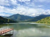 landskap för berg för himalayasladakhlake Royaltyfri Bild