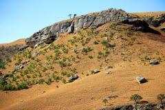 Landskap för Drakensberg drakeberg Royaltyfria Bilder