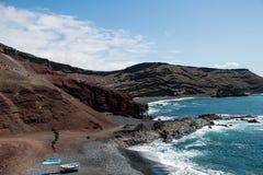Landskap för El Golfo Royaltyfria Foton