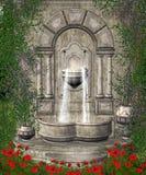 landskap för fantasi 114 royaltyfri illustrationer