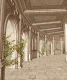 landskap för fantasi 30 vektor illustrationer
