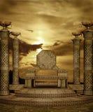 landskap för fantasi 49 royaltyfri illustrationer
