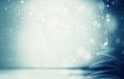 Landskap för glad jul Royaltyfri Bild