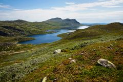 Landskap för högt berg Royaltyfria Foton
