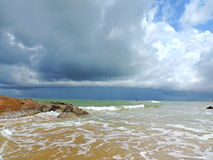 Landskap för havssida royaltyfri fotografi