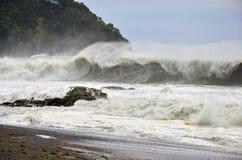 Landskap för havvågor Fotografering för Bildbyråer