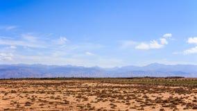 Landskap för kartbokberg, Morroco Royaltyfria Bilder