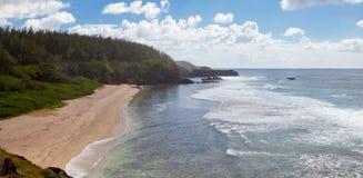 Landskap för Mauritius öhav Royaltyfri Foto