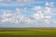 Landskap för Morecambe fjärdslätt Royaltyfri Bild