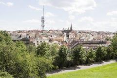 Landskap för Praha stadssikt Royaltyfri Foto