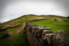 Landskap för stenvägg Arkivbilder