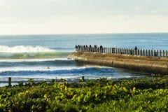 Landskap för strandhavsportar Royaltyfri Fotografi