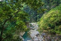 Landskap för Taroko nationalparkkanjon i Hualien, Taiwan arkivbild