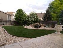 Landskap för trädgård Arkivbild