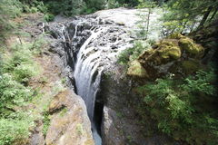 Landskap för Vancouver ö Arkivfoton