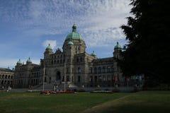 Landskap för Vancouver ö Arkivfoto