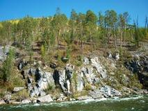 Landskap flod Royaltyfri Foto