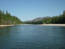 Landskap flod Fotografering för Bildbyråer