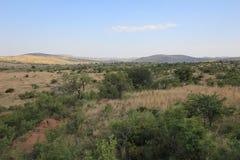 Landskap från Afrika Arkivbilder