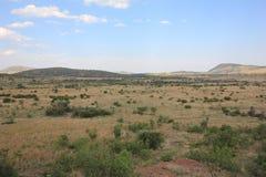 Landskap från Afrika Fotografering för Bildbyråer
