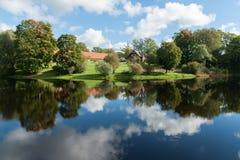 Landskap från Birinu sjön Fotografering för Bildbyråer
