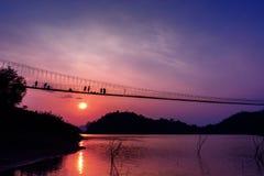 Landskap från den Kaeng Krachan nationalparken Thailand Royaltyfri Foto